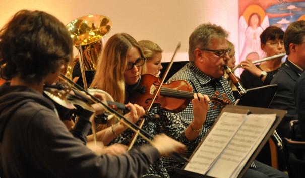 Bild från Musikskolans 50-årsjubileum