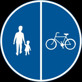 gäller högerregeln vid cykelöverfart