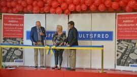 Invigning av Additivt Teknikcenter i Hultsfred