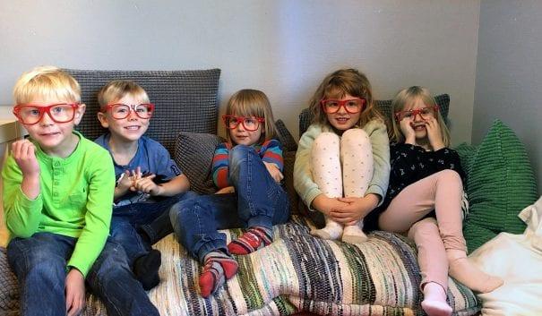Förskolebarn på Silverslättens förskola