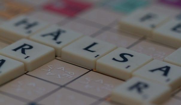 bokstäver som bildar ordet hälsa