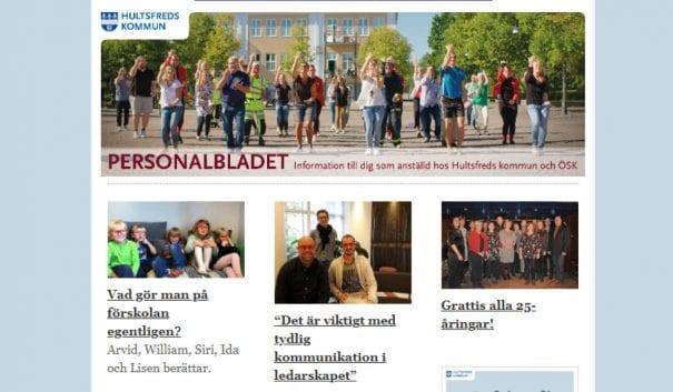 Puff för Personalbladet